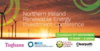 Northern Ireland's first renewable energy investment conference taking place this November