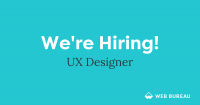 We're looking for a talented UX/UI Designer to join our team!