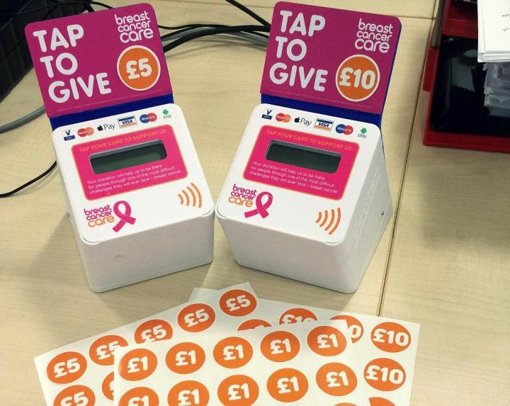 Sync NI - British charity pioneers contactless charitable donations