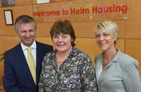 IT is 'as safe as houses' at Helm HQ