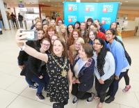 IT Crowd gets some girl power at Belfast Met summer camp
