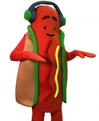 Snap is selling an $80 dancing hot dog costume