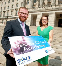Economy minister launches Deloitte Cloud Academy