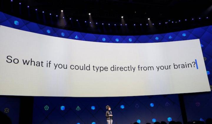 Facebook is working on technology that could let users type text with their minds