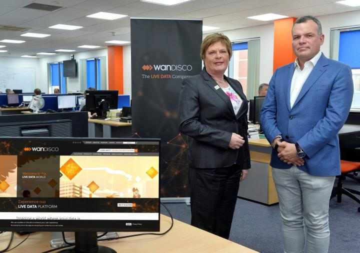 WANdisco continues development of its ground-breaking Live Data technology in Belfast