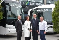 Hannon Coach announces 40 new jobs and partnership with Odyssey Trust
