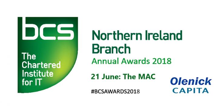 British Computer Society NI Awards opens 2018 nominations