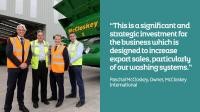 McCloskey International Demonstrates its Confidence in Mid Ulster