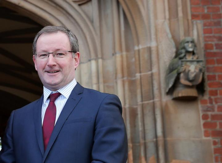 Queen's University Belfast Vice-Chancellor dies suddenly