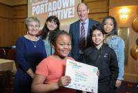 Portadown scheme credited with positive impact on young people's health