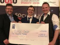 Maurice McErlean wins £2,000 UUSU Shark Tank Prize