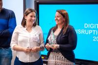 Female-led Irish technology company wins Digital Disruptor Award 2018