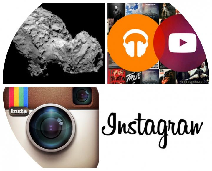 'Week in Tech': Philae, YouTube and Instagram