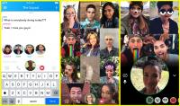Snapchat launches 16-person group video chat feature