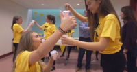 Mannequin Challenge at Day Of Ambition for East Belfast Schools