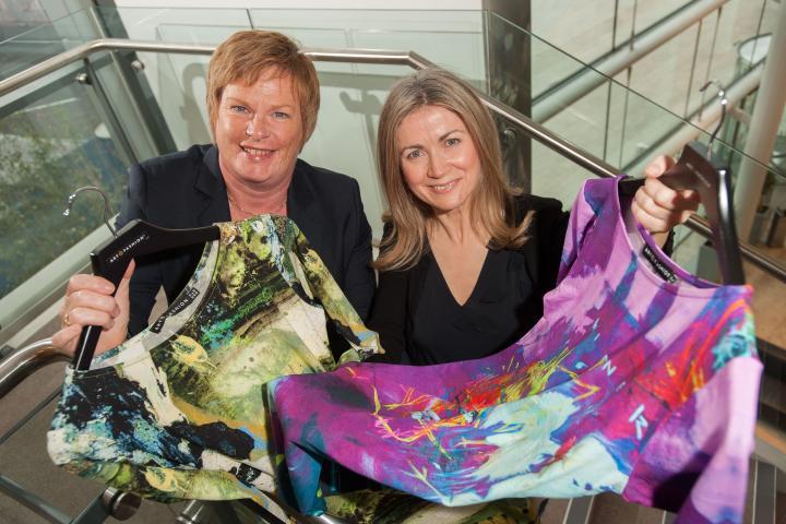 Sync Ni Belfast Based Art On Fashion To Export To Qatar