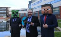 Belfast Met helps roll out Minecraft as an introduction to coding
