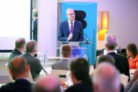 Irish Foreign Affairs Minister Simon Coveney TD addresses NI Chamber event