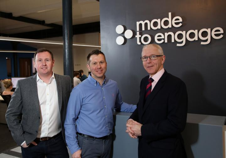 Made to Engage to create 40 new jobs in NI's ICT sector