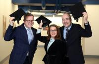 Hats off to Ulster University Business School's new visiting professors
