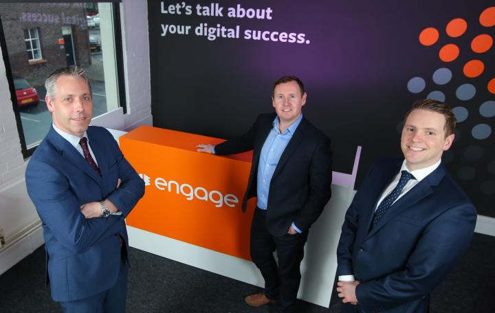 Bank of Ireland UK funding supports international expansion at Belfast-based digital agency, Engage
