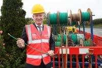 Project Lightning strikes as Sync NI meet with Virgin Media Ireland CEO Tony Hanway