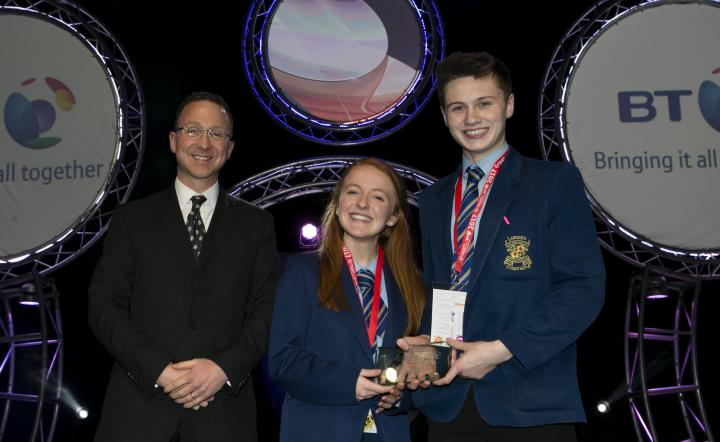 Success for Northern Ireland students at the 53rd BT Young Scientist & Technology Exhibition