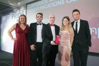 JComms wins Gold Award for Novosco Cloud Camp Campaign